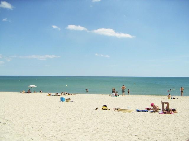 Zee bij Montpellier