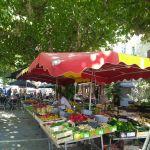Markt in Aigueze